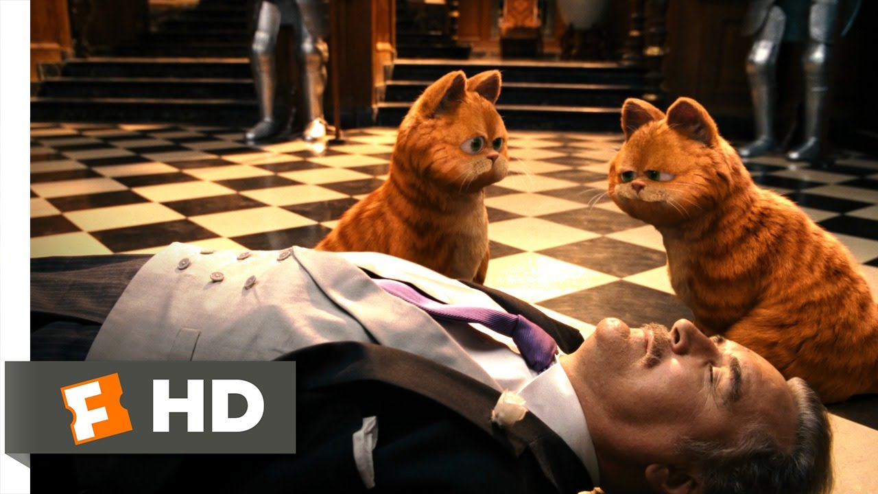 Garfield A Tail Of Two Kitties 5 5 Movie Clip The Animals Fight Back 2006 Hd Youtube