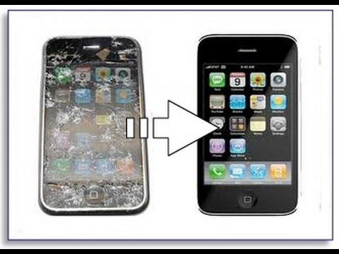 замена стекла тачскрина на iphone 3gs