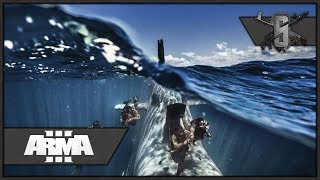 Submarine Insertion and Helicopter Impregnation - ArmA 3 Zeus Gameplay
