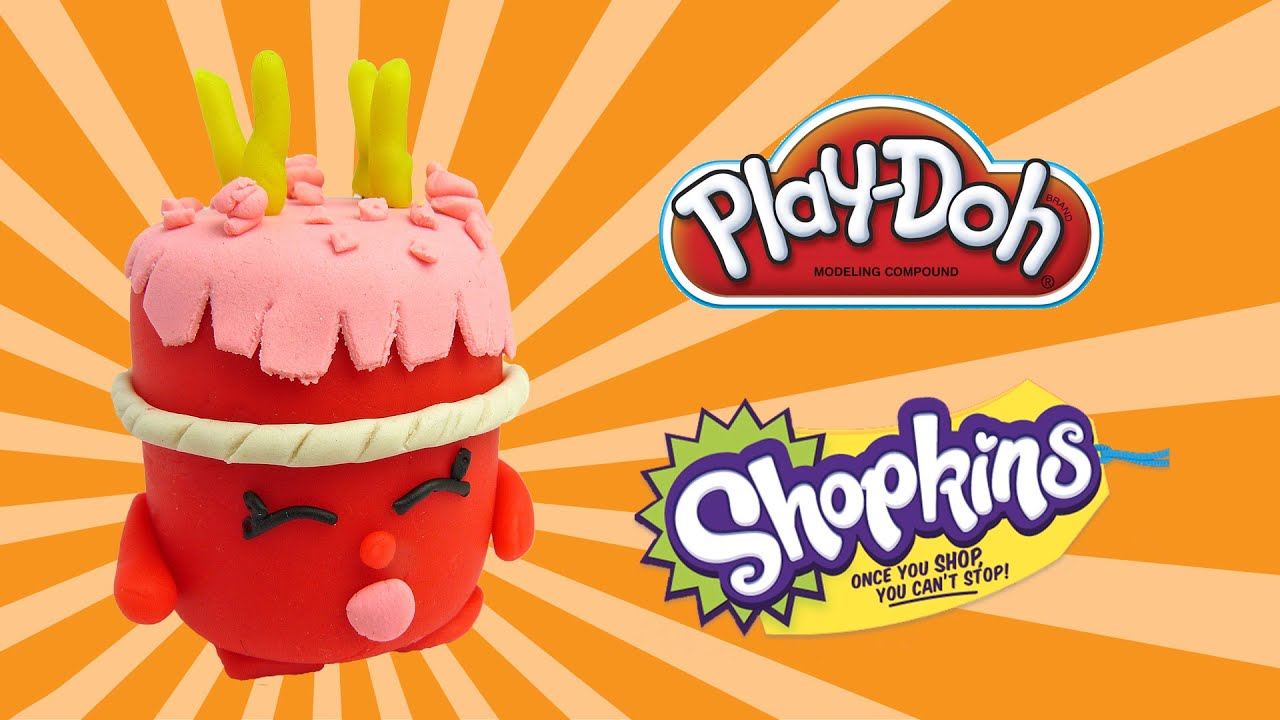 play doh ultra rare shopkins wishes - how to make with playdoh ...
