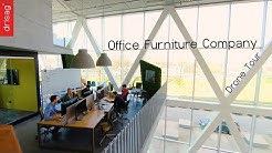 Drisag Office Furniture - Drone Tour