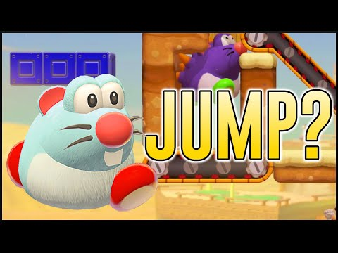 Jump Switch in 3D World? Crazy Contraptions Ep. 2