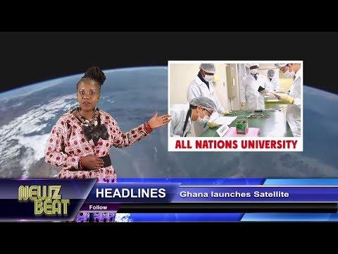 HEADLINES: Ghana launches Satellite(S4 episode 42 NewzBeat Uganda)