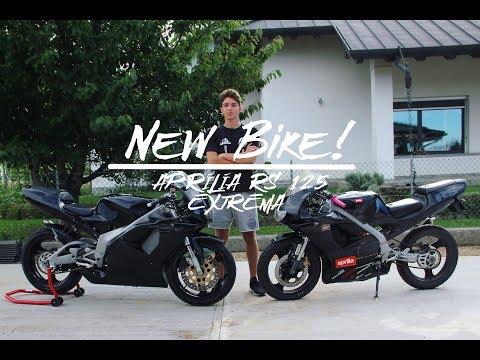 GETTING BIGGER || NEW BIKE! || Aprilia RS 125 Extrema