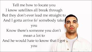 Drake ft. Chris Brown Yamaha Mama ( Lyrics on Screen )