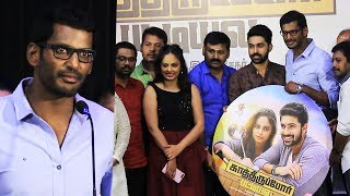 Kaathirupor Pattiyal Movie Audio Launch By Vishal | Sachin | Nandita Swetha | Sean Roldan | Sukumar