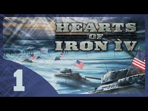 Hearts of Iron IV - Fascist USA #1 - Introduction [Tutorial Gameplay] [Mac]