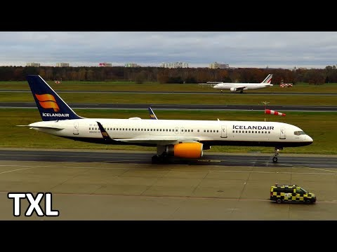 30+ Minutes PLANESPOTTING at Berlin Tegel Airport: AZAL+MIAT 767, Swiss A330, Icelandair 757 & more!