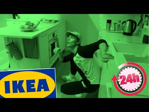 24 HOUR OVERNIGHT CHALLENGE IN IKEA!! *SUCCESS*