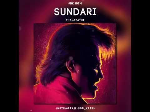 Thalapathy   Sundari  song violin cover