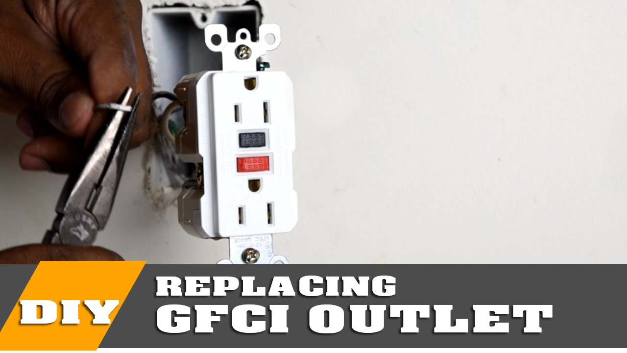 How To Install Or Replace A Gfci Outlet Youtube