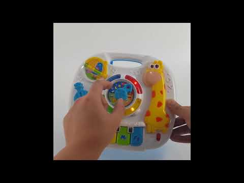 Baby Kids 2 in 1 Table Piano Music LED Learning Hanger Toy (24cm)