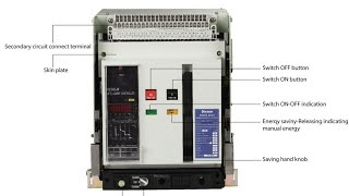 Air circuit breaker parts and details
