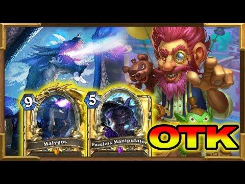 Hearthstone: Malygos Jepetto Warlock OTK | Rise of Shadows New Decks