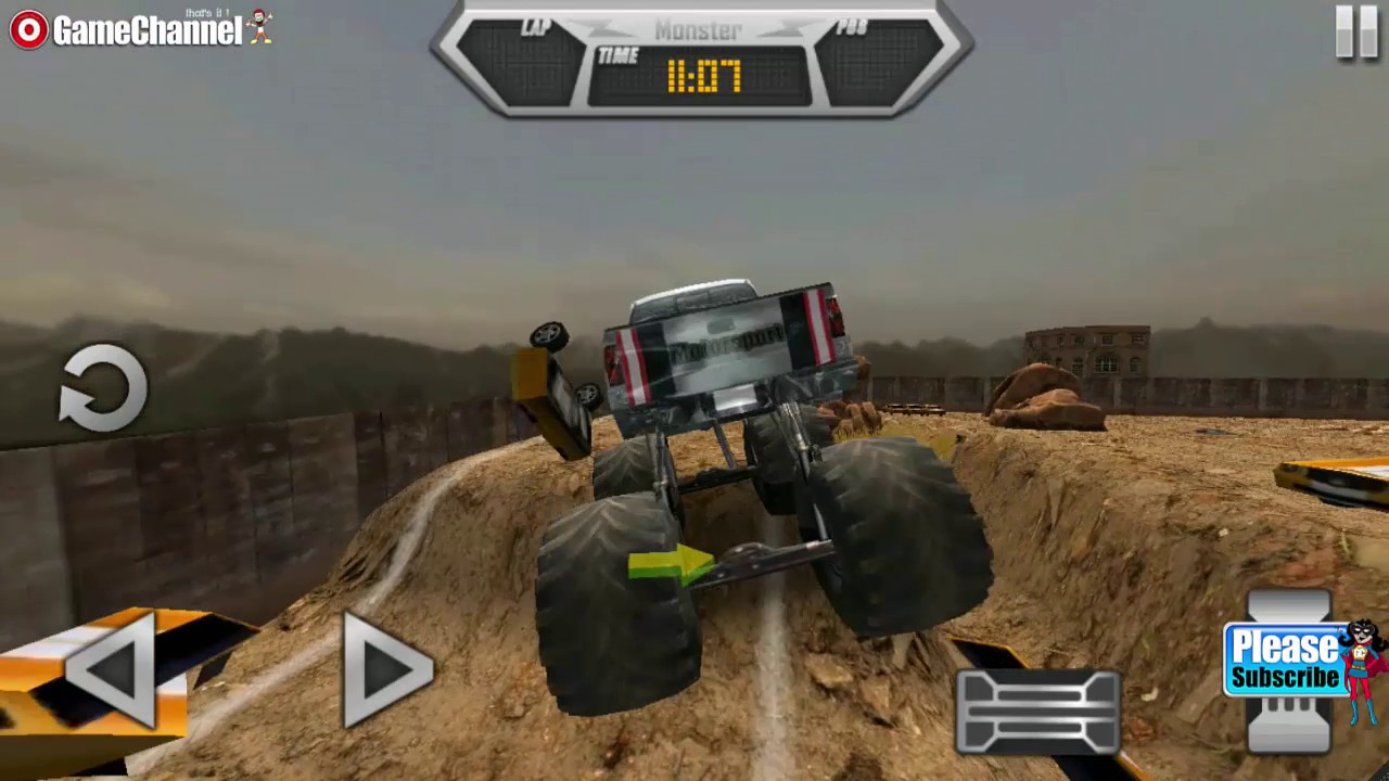 Monster Truck Extreme Racing Games Videos Games For Kids Android Youtube Kids Games Youtube Video