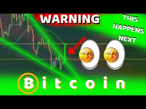 BITCOIN BROKE!! WARNING - HERE'S WHAT HAPPENS NEXT! MOST DON'T EXPECT THIS!!!!!