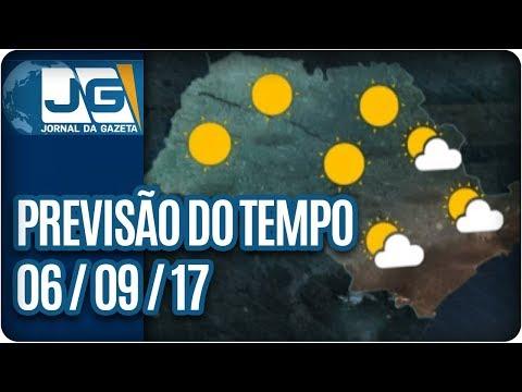 Previsão do Tempo - 06/09/2017