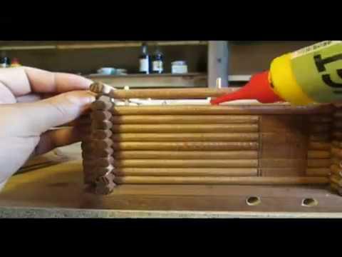 Игрушечные деревянные домики своими руками