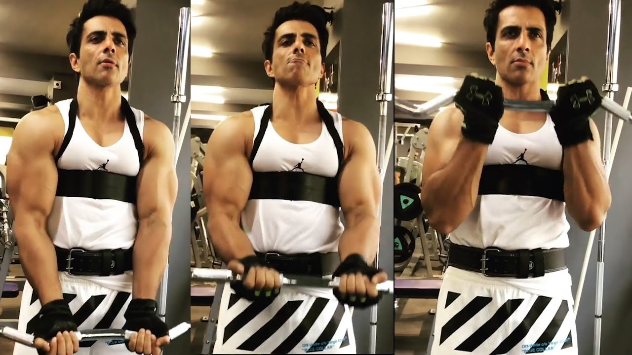 Living God Sonu Sood Gym Workouts | Sonu Sood Fitness Workouts | Film jalsa