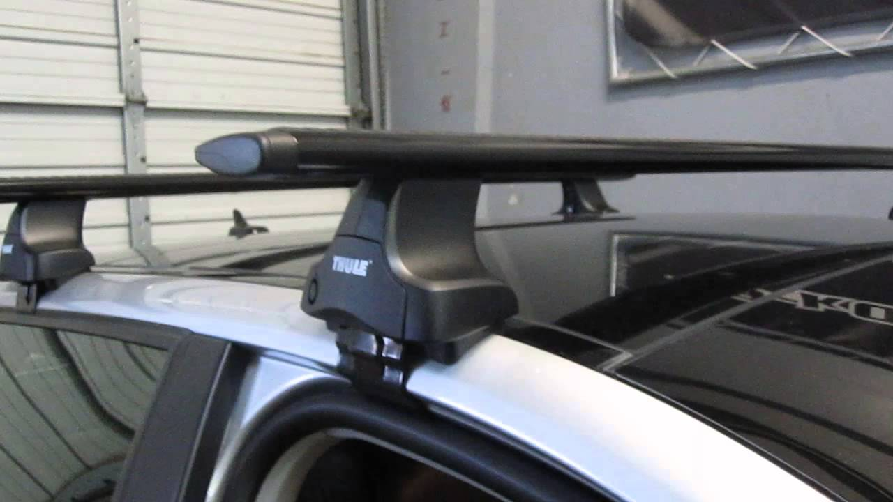2006 to 2013 Audi A3 Sportback with Thule 480R Traverse ...