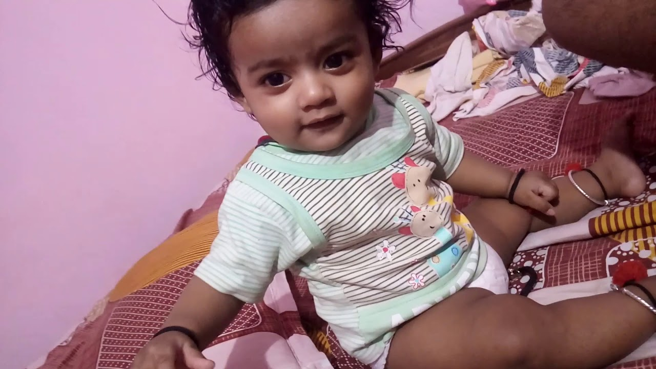 Download Small Six Months Indian Baby Talking|Baby 4u