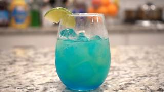 How to make Smurfs cocktail