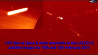 UFO War in Space &  other anomalies in the LASCO C2 satellite images for 14th and 15th February 2017(UFO War in Space & other anomalies in the LASCO C2 satellite images for 14th and 15th February 2017 For more information, please visit ..., 2017-02-16T11:01:38.000Z)