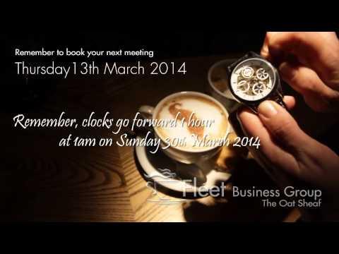 Fleet Business Group - Networking Breakfast-March