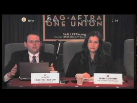 SAG-AFTRA Livestream Info Meeting 2/29/12 - Part 2 of 5