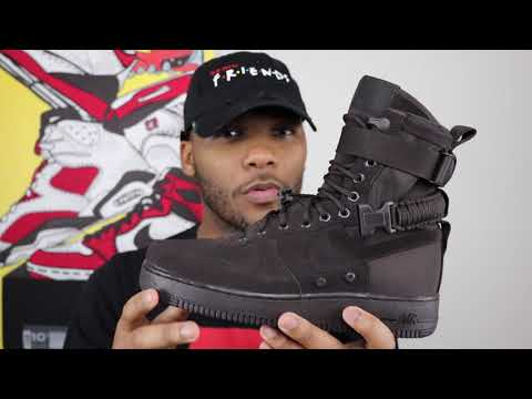 """UNBOXING THE NIKE SF AIR FORCE ONE """"VELVET BROWN""""!!!"""