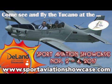 Tucano LSA Flying Legends Tucano Experimental Aircraft Sport Aviation Showcase 2017 Deland Florida