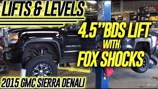 "Lift & Levels: 2015 GMC Sierra Denali, 4.5"" BDS Lift w/Fox Shocks"