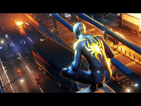 Видео: СЛУЧАЙНО СЛОМАЛ МОСТ Человек Паук Майлз Моралес на PS5 Прохождение Spider Man Miles Morales ПС5