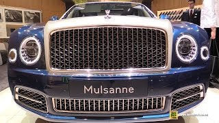 2017 Bentley Mulsanne Hallmark by Mulliner - Exterior Interior Walkaround - 2017 Geneva Motor Show