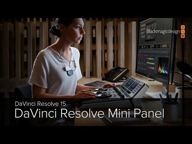 DaVinci Resolve 15 -  DaVinci Resolve Mini Panel