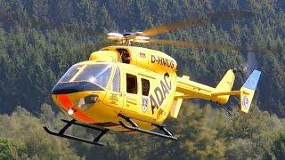 BK-117 BIG SCALE RC TURBINE MODEL HELICOPTER FLIGHT / Turbine meeting 2015 *1080p50fpsHD*