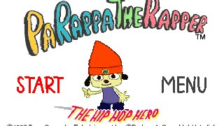 PSX Longplay [002] PaRappa the Rapper