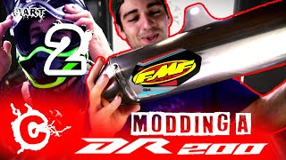 Modding A Suzuki DR200 Part 2