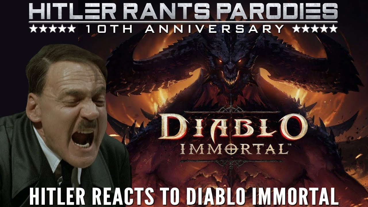 Hitler reacts to Diablo Immortal