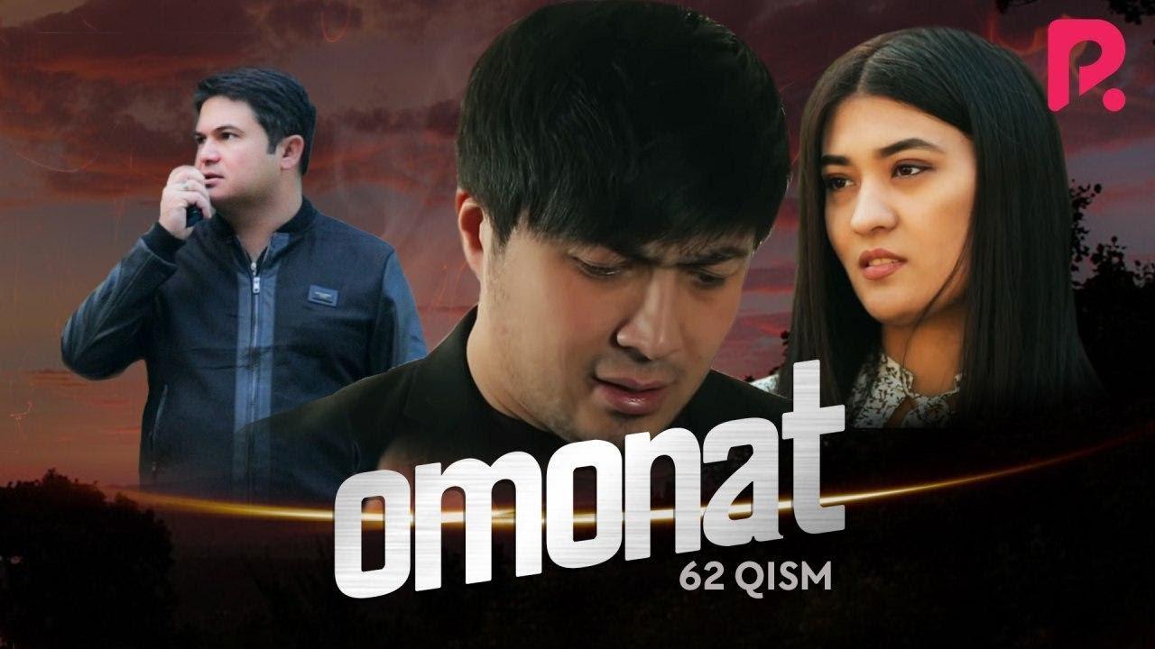 Omonat (o'zbek serial)   Омонат (узбек сериал) 62-qism MyTub.uz