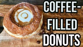Coffee-Filled Donuts Are REAL & Here