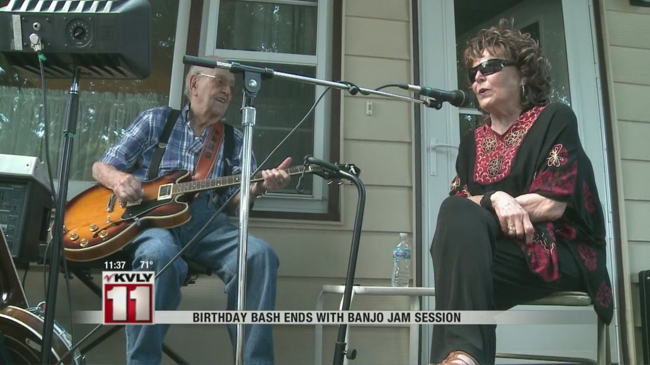 The Gift Of Music Helps Keep A 91 Year Old Man Youthful