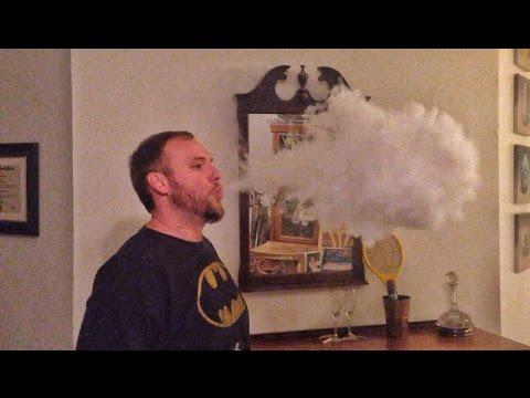 E-Cigarette Huge Vapor Clouds