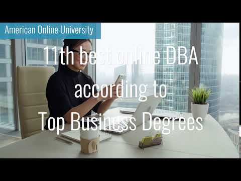 11th best online DBA according to Top Business Degrees