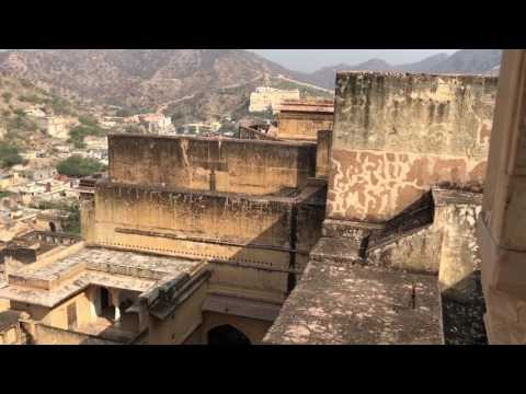 Amber Ford-einzigartige Festung bei Jaipur, Indien