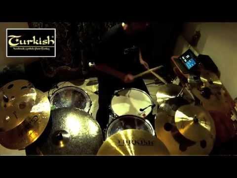 Turkish Cymbals Latin Solo Loop Drumless. Endorser Paweł Twardoch