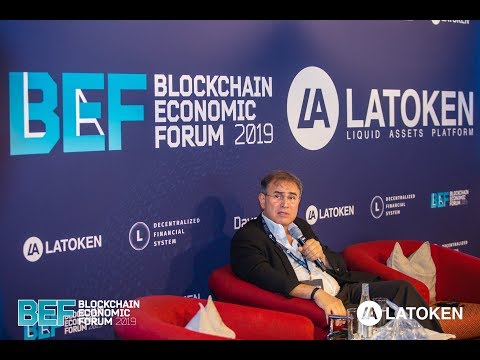 Nouriel Roubini Keynote: Fintech Revolution Coming, Nothing To Do With Blockchain | BEF Davos 2019