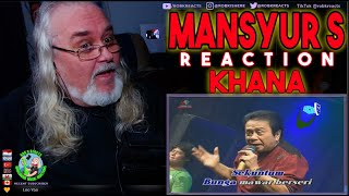 Mansyur S Reaction - Khana - First Time Hearing - Requested