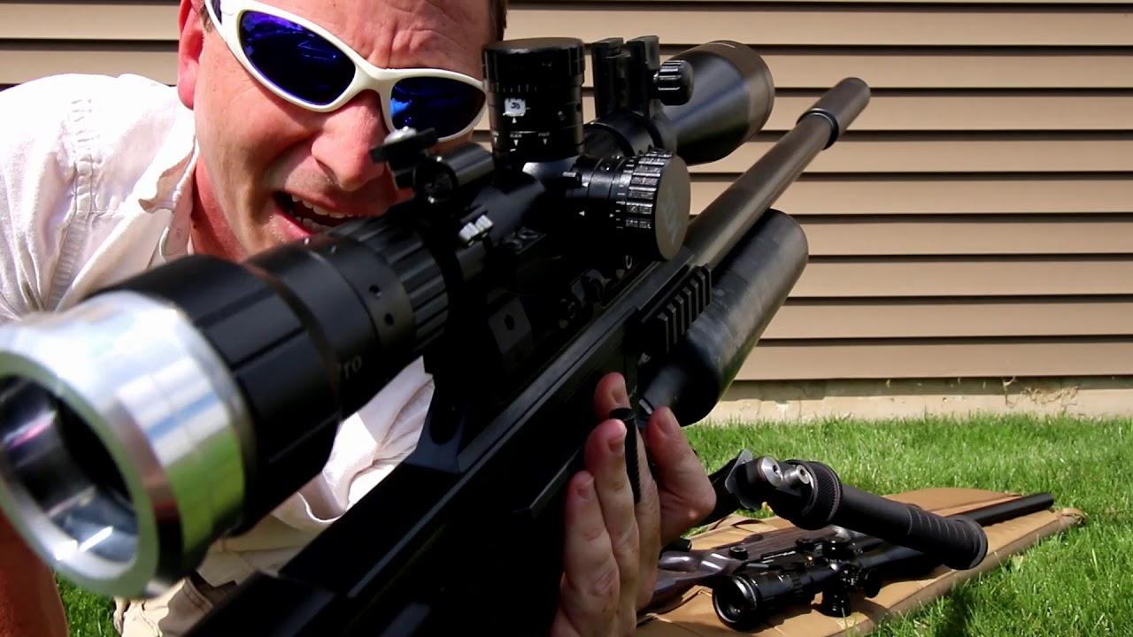 How I set up my Air Rifle Scopes (MTC Viper Pro 5-30x + FX No Limit Mounts)