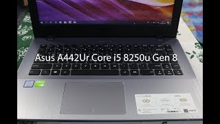 Unboxing & Review Notebook Asus A442Ur Intel Core i5 8250u Gen 8